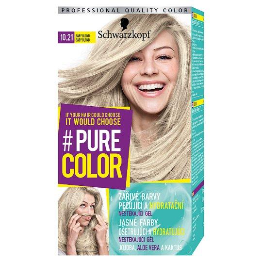Schwarzkopf Pure Color farba na vlasy Baby Blond 10.21