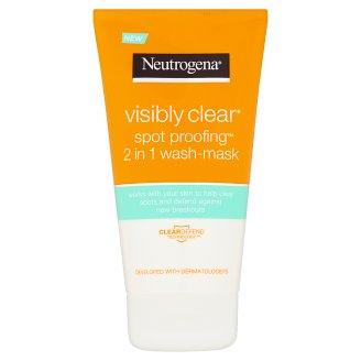 Neutrogena Visibly Clear Spot Proofing 2 v 1 čistiaca emulzia a maska 150 ml