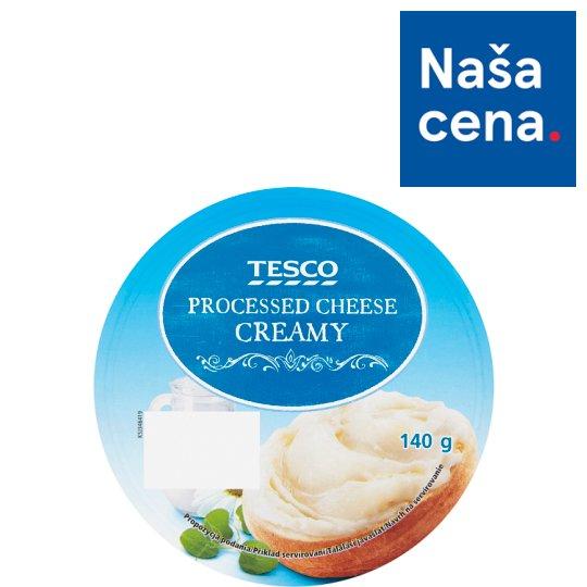 Tesco Processed Cheese Creamy 8 x 17.5 g