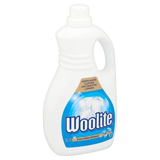 Woolite Extra White Brilliance tekutý prací prípravok 50 praní 3 l