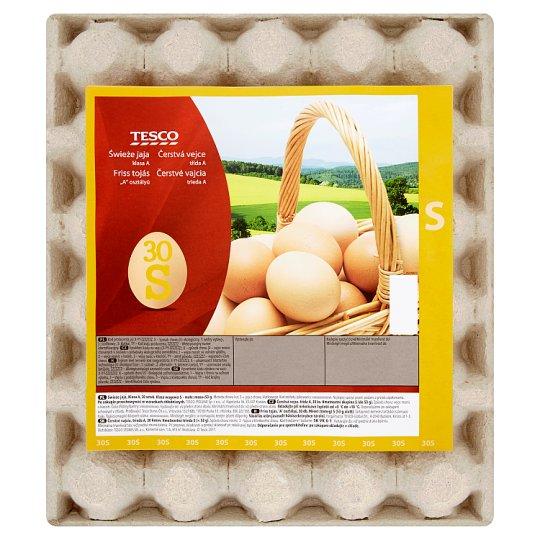 Tesco Čerstvé vajcia S 30 ks