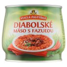 Veselá Pastýřka Diabolical Meat with Beans 420 g