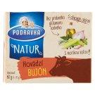 Podravka Natur Beef Broth 6 x 10 g