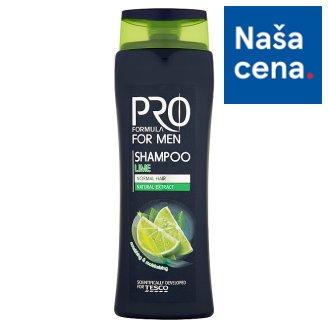 Tesco Pro Formula For men lime šampón pre mužov 400 ml