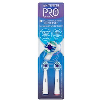Tesco Pro Formula Energy Whitening Replacement Brush Heads 2 pcs