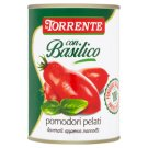 La Torrente Plum Peeled Tomatoes with Basil 400 g