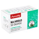Popradský On Throat with Sage Herbal Tea 15 x 1.5 g