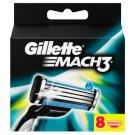 Gillette Mach3 Náhradné Holiace Hlavice Na Pánsky Holiaci Strojček – 8 ks