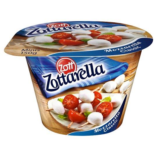 Zott Zottarella Minis Mozzarella Classic 150 g