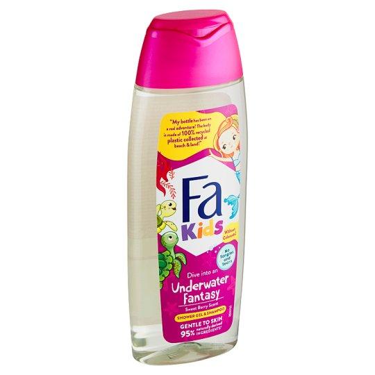 Fa Kids Shower Gel & Shampoo Berry Scent 250 ml