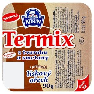 Mlékárna Kunín Termix s príchuťou lieskový orech 90 g