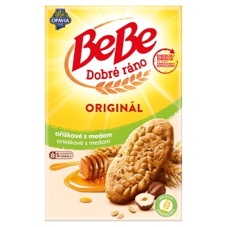 Opavia BeBe Dobré Ráno Cereal Biscuits with Nuts and Honey 8 x 50 g