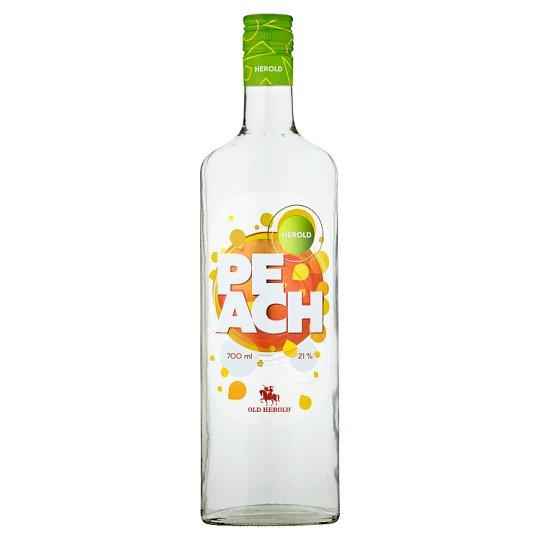 Herold Peach likér 21% 700 ml