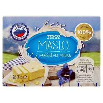 Tesco Maslo z horského mlieka 250 g