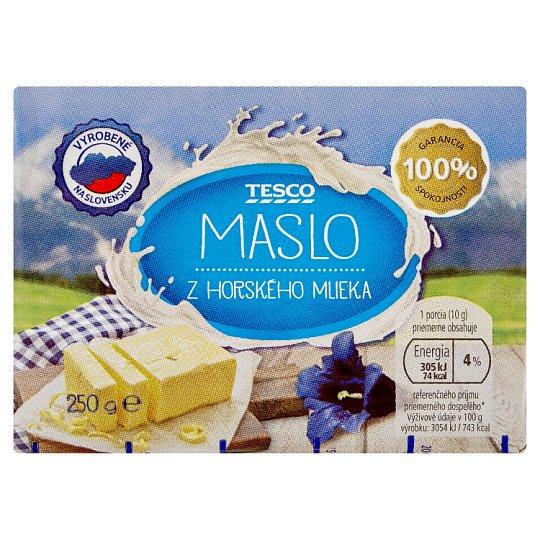 Tesco Butter from Mountain Milk 250 g