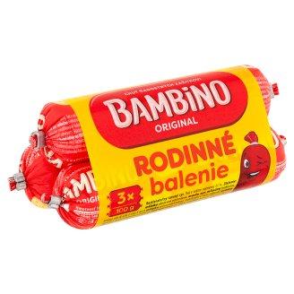 Bambino Rodinné balenie roztierateľný tavený syr 3 x 100 g