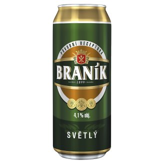 Braník Pivo konzumné svetlé 0,5 l
