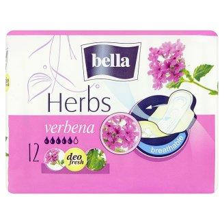 Bella Herbs Verbena priedušné hygienické vložky s bočnými krídelkami 12 ks