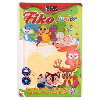 Melina Fiko Junior zvieratká gouda plátkový syr 150 g