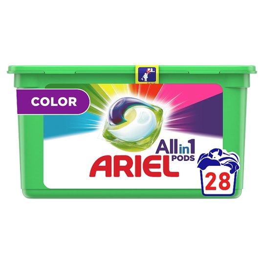 Pracie Kapsuly Ariel Color 3 v 1 Na 28 Praní