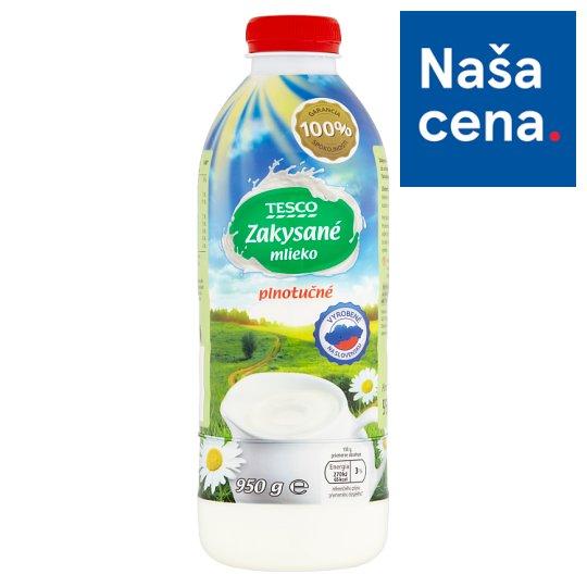 Tesco Zakysané mlieko plnotučné 950 g
