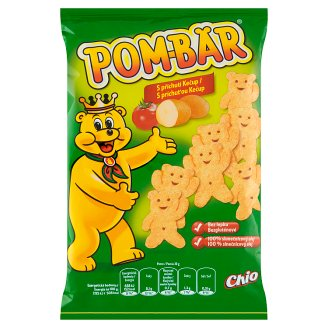 Pom-Bär Fried Potato Snack with Flavour of Ketchup 50 g