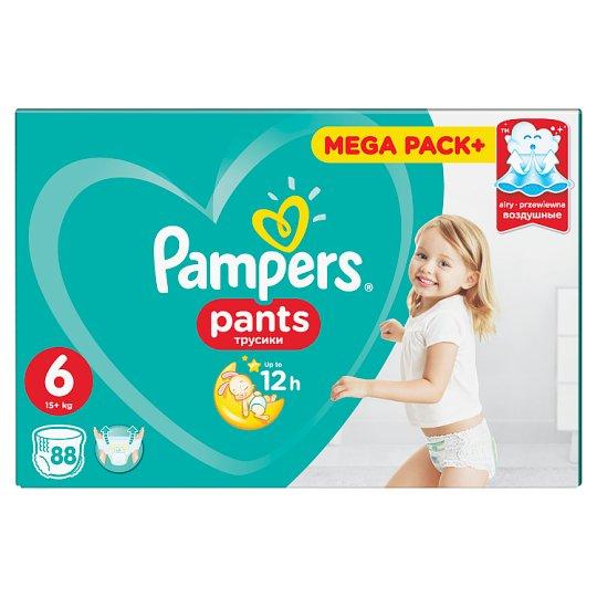 Pampers Pants, Veľ.6, 88 Plienok, Ľahké Obliekanie