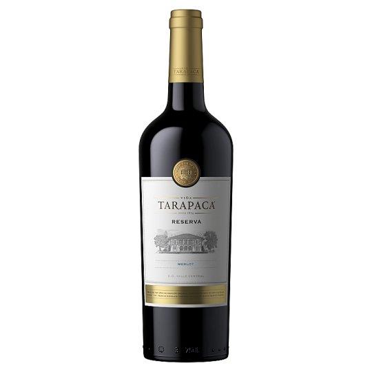 Viña Tarapacá Reserva Merlot červené víno 750 ml