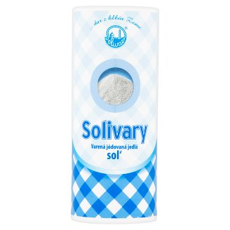 Solivary Cooked Iodinated Food Salt 200 g