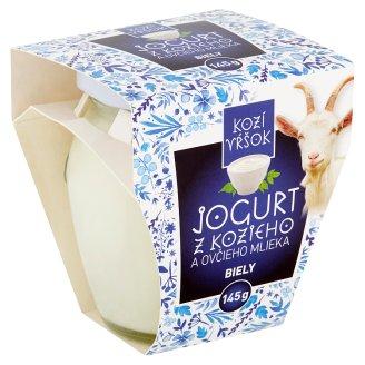 Kozí Vŕšok Jogurt z kozieho a ovčieho mlieka biely neochutený 145 g