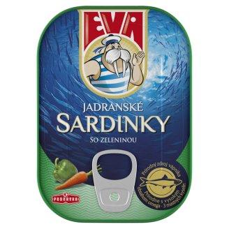 Eva Sardinky so zeleninou v paradajkovej omáčke 115 g