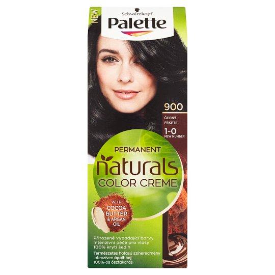 Schwarzkopf Palette Permanent Naturals Color Creme farba na vlasy Čierny 900 (1-0)