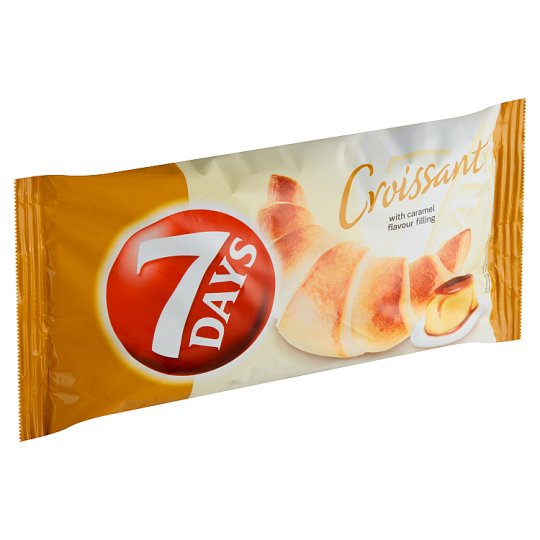 7 Days Croissant with Caramel Flavour Filling 60 g