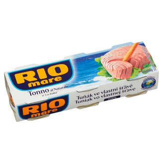Rio Mare Tuna in Own Juice 3 x 80 g