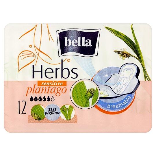 Bella Herbs Plantago Breathable Sanitary Napkins 12 pcs