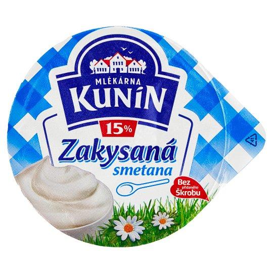 Mlékárna Kunín Creamy Sour Cream 15% 190 g