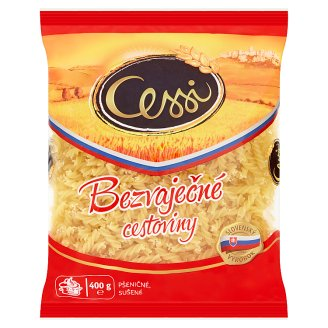 Cessi Egg-Free Pasta Wheat, Dried Spindles 400 g