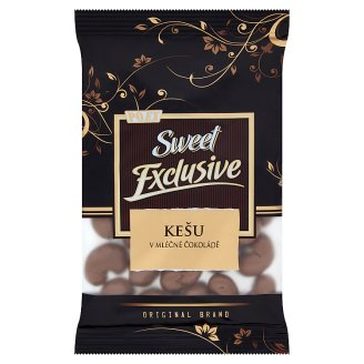 Poex Sweet Exclusive Cashew Kernels in Milk Chocolate 150 g