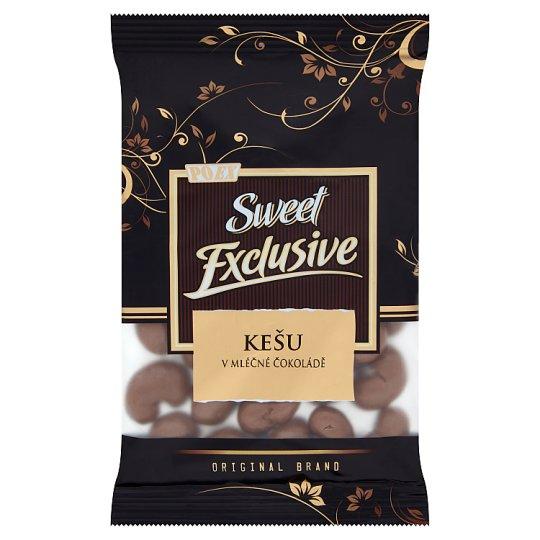 Poex Sweet Exclusive Jadrá kešu orechov v mliečnej čokoláde 150 g