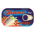 Giana Sardinky v paradajkovej omáčke 125 g