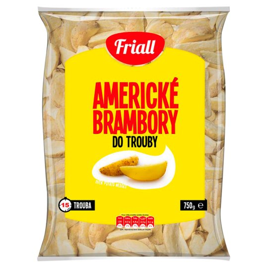 Friall American Spicy Potatoes into the Oven 750 g