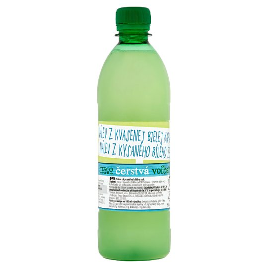 Tesco Fresh Choice Pickle from Fermented White Cabbage 500 ml