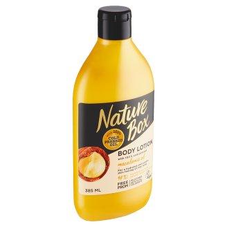 Nature Box telové mlieko Macadamia Oil 385 ml