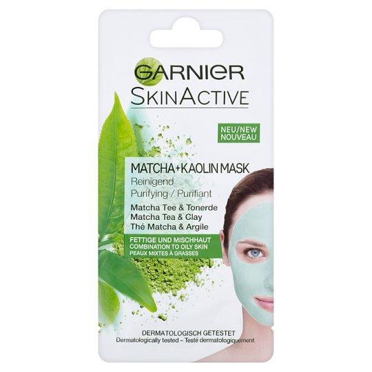 Garnier Skin Active Čistiaca kaolínová maska s výťažkami z čaju matcha 8 ml
