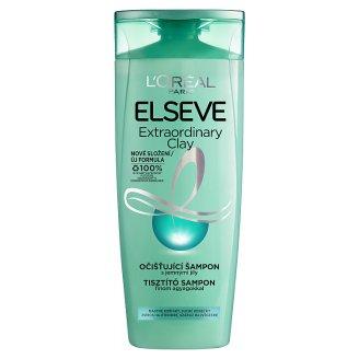 L'Oréal Paris Elseve Extraordinary Clay očisťujúci šampón pre rýchlo sa mastiace vlasy 250 ml
