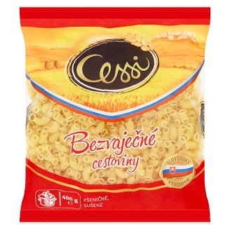 Cessi Egg-Free Pasta Wheat, Dried Elbows 400 g