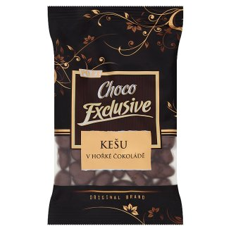 Poex Choco Exclusive Cashew Nut Kernels in Dark Chocolate 150 g