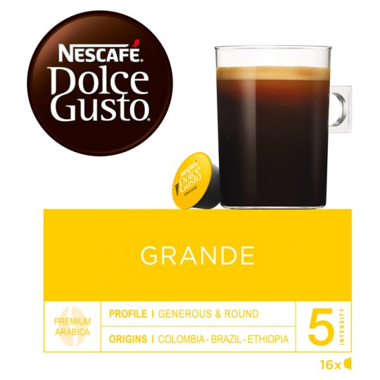 NESCAFÉ Dolce Gusto Grande - Coffee in Capsules - 16 Capsules Packed