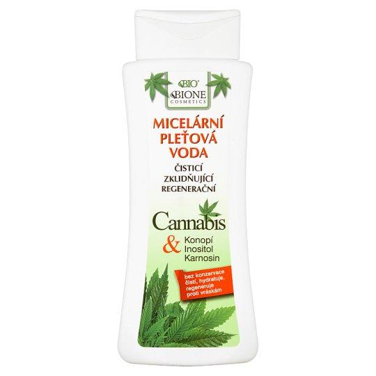 Bione Cosmetics Bio Cannabis micelárna pleťová voda 255 ml