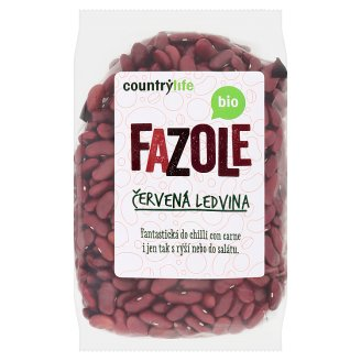Country Life Organic Beans Red Kidney 500 g